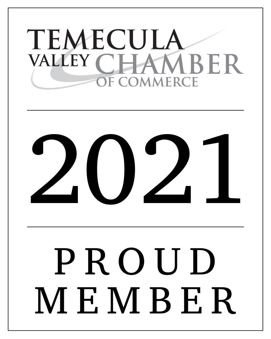Member of Temecula Valley Chamber of Commerce